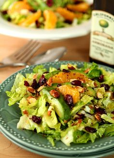 Lunch: substitute salad dressing for the paleo Avo ranch. Avocado and Orange Chopped Salad with Orange Honey Mustard Dressing Avocado Recipes, Salad Recipes, Healthy Recipes, Honey Mustard Dressing, Clean Eating, Healthy Eating, Avocado Salat, Chopped Salad, Soup And Salad