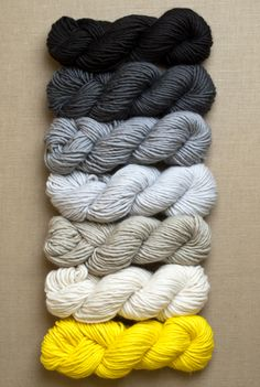 yarn for super easy crib blanket in super soft merino (purl soho)// firefly