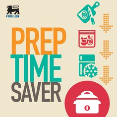 Crock'n Roll: Save time by prepping ahead. Store items in separate bags by cutting up vegetables and meat then toss from the fridge right into the crock pot before you head out. #FoodLion