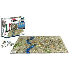 4D Cityscape Puzzle Major cities