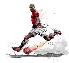 My painting of Paul Pogba,Welcome to Manchester! My painting of Paul Pogba,Welcome to Manchester! Soccer Art, Football Art, Paul Pogba, Pogba Wallpapers, Pogba Manchester, Manchester United Wallpaper, Football Wallpaper, Man United, Sports Art
