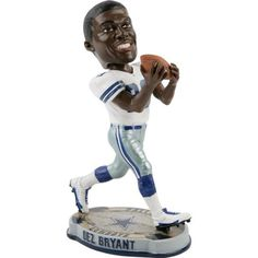 Dez Bryant Dallas Cowboys 2012 NFL Forever Collectibles Bobble Head - http://nfledge.net/dez-bryant-dallas-cowboys-2012-nfl-forever-collectibles-bobble-head/ - Hand crafted and highly detailed collectible bobblehead dolls! Whether you are looking for the next great piece of spirited team decor to display at work or home, this bobblehead is the perfect way to show you love your team! Bobblehead stands 8″ tall. Product Features  Bobblehead doll Stands 8 inches tall Offici