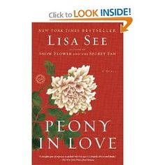 Lisa See currently readimg it and in one day four chapter i think i'm hooked.