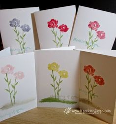 Stamp & Scrap with Frenchie: Stamp on the Go with Painted Petals
