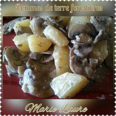 Pommes de terre forestières au Cookéo ou pas 258 kcal la portion
