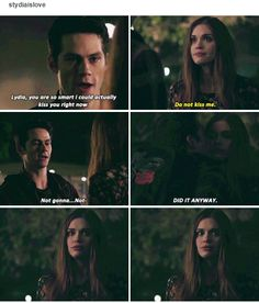 Teen Wolf - Season 6 - Stydia don't ship it but if Stiles is happy then I'll be fine with it Teen Wolf Quotes, Teen Wolf Memes, Teen Wolf Funny, Teen Wolf Stydia, Teen Wolf Stiles, Teen Wolf Cast, Dylan O'brien, Teen Wolf Dylan, Alphabet A