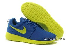 online store 1f3e5 8d1ed Nike Roshe Run Royal Blue Volt Mens Shoes TopDeals, Price   78.64 - Adidas  Shoes,Adidas Nmd,Superstar,Originals