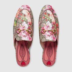 Princetown GG Blooms slipper