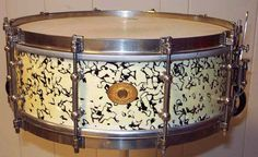 Ludwig & Ludwig 5x14 Snare Drum Streaked Opal