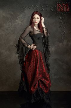 Lavinia Mesh Lace Fairy Top / Shirt - Custom Elegant Gothic Clothing and Dark Romantic Couture. $89.00, via Etsy.