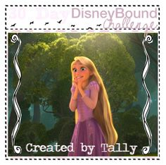 """30 Day DisneyBound Challenge"" by tallybow ❤ liked on Polyvore featuring картины"