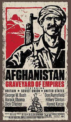 Afghanistan Anti-War Movie Poster #American