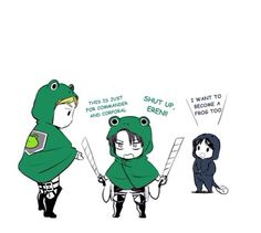Sgt. Frog/ aot