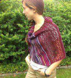 Ravelry: English Breeze Shawl pattern by Maria Sarro