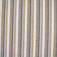 Baumwolle rein - Baumwollstoff Streifen braun weiß gewebt - ein Designerstück von Online-Stoffe-Werning bei DaWanda