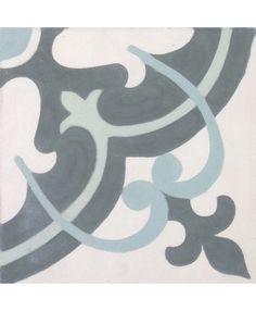 Montpelier Encaustic Cement Tiles. Shop Online:  http://www.terrazzo-tiles.co.uk/montpelier-encaustic-cement-tile.html #encaustic #cement #tiles #montpelier #terrazzotiles @TerrazzoTiles