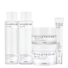 [어퓨] 히아루치온 라인 5종 Skincare Packaging, Beauty Packaging, Cosmetic Packaging, Packaging Design, Branding Design, Cosmetic Design, Cosmetics & Perfume, Name Cards, Logo Design Inspiration