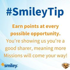 We often get asked what is the 'point' of points on #Smiley360! #SmileyTip :-) http://ift.tt/1BtFjPf