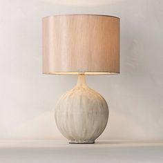 Buy John Lewis Ebony Table Lamp Online at johnlewis.com