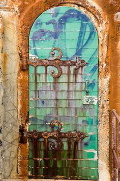 nice rusty hinges