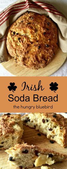 Traditional Irish Soda Bread ~ crusty and dense