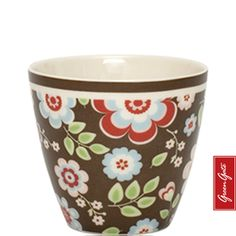 Greengate latte cup Mimi brown