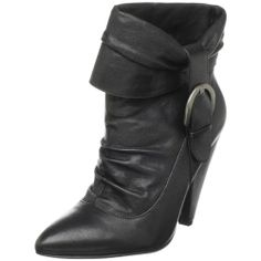 Jessica Simpson Women's Hazell Ankle Boot -- You can get additional details at the image link. Black Ankle Boots, Ankle Booties, Shoe Shop, Black 7, Booty, Heels, Sneakers, Leather, Fashion Design