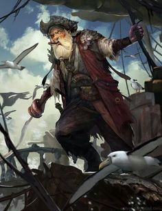 Tagged with pirates, workingonanewsetting, campaignsetting; D&D Ideas :: Argh. There Be Pirates Here Pirate Games, Pirate Art, Pirate Life, Pirate Ships, Pirate Crafts, Dungeons And Dragons Characters, Dnd Characters, Fantasy Characters, Fantasy Rpg