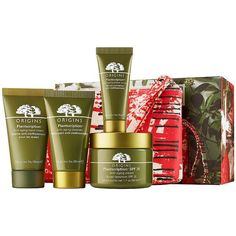 Origins Anti-Aging Bests Sets 1 ea ($58) ❤ liked on Polyvore featuring beauty products, skincare, face care, anti aging skincare, anti aging skin care, antiaging skin care, origins skincare and origins skin care