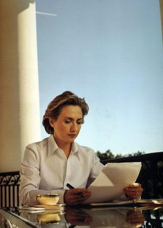 Hillary Clinton  photos by Annie Leibovitz