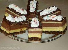 Hungarian Cake, Hungarian Recipes, Hungarian Food, Ital Food, Something Sweet, Tiramisu, Cake Recipes, Cheesecake, Deserts