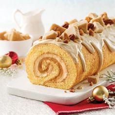 Obtain Chinese Food Dessert Recipe Xmas Food, Christmas Desserts, Christmas Baking, Christmas Cakes, Christmas 2019, Cake Roll Recipes, Dessert Recipes, Glaze For Cake, Log Cake