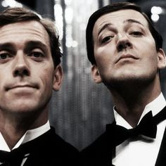 Hugh Laurie  Stephen Fry