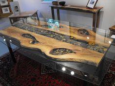Attaching Legs To Slab Bench | modern wood and metal slab furniture. steelrootfurniture@gmail.com 828 ...