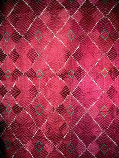 Vintage Pulkari fabric
