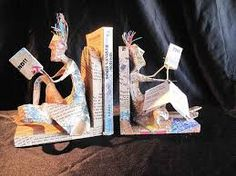 Image result for book sculpture ideas
