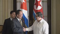 Cuba and North Korea have agreed to strengthen bilateral ties to better withstand US pressure.
