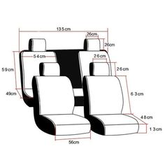 Universal PU Leather Car Seat Covers for Toyota Corolla Camry Auris Prius Yalis Avensis SUV Auto Accessories Car Sticks Toyota Tundra, Toyota Corolla, Car Seat Cushion, Cushion Covers, Interior Accessories, Car Accessories, Leather Accessories, Car Seat Cover Pattern, Carros Toyota