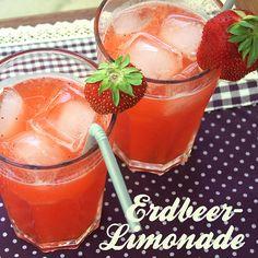 Zitronen-Erdbeer-Limo