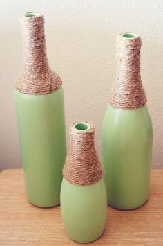 Reciclar e Decorar - blog de decoração : Decore com garrafas