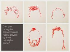 """While the mainstream sports media are profiling the new caps in the England back line and wondering aloud """"which France team will turn up? England Rugby Players, France Team, Haircuts, Drawings, Illustration, Hair Cuts, Sketches, Illustrations, Hair Cut"""