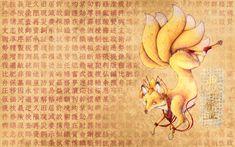 Kitsune Wallpaper by DablurArt.deviantart.com on @DeviantArt