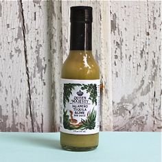 Queen Majesty AKA Erica Diehl hand makes this yummy pepper sauce in Brooklyn. Hot Sauce, Stuffed Peppers, Queen, Handmade, Decor, Hand Made, Decoration, Stuffed Pepper, Decorating