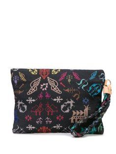 Ancient Greek Sandals Abundance Clutch Bag In Grey Ethical Brands, Ancient Greek Sandals, Brand You, Graphic Prints, World Of Fashion, Luxury Branding, Abundance, Clutch Bag, Louis Vuitton Monogram