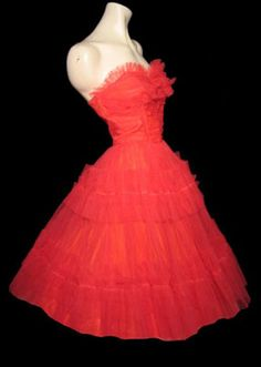 fourties fashion formal wear | Class of 1940-1960 :: Senior Prom Vintage Style | Debutante Clothing