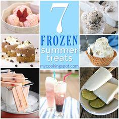 7 Frozen Summer Treats | My Cooking Spot