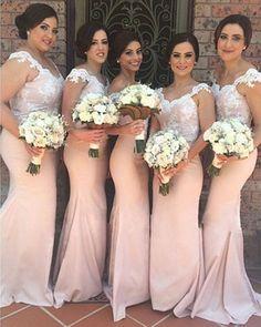 2015 Mermaid Bridesmaid Dresses Long Coral Colored V Neck Bridesmaid Dress