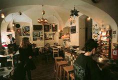 Duende cafe, artist's hangout -- Prague