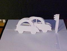 Paper cutting cars