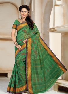 http://www.sareesaga.com/index.php?route=product/product&product_id=22989 Style	:	Casual	Shipping Time	:	10 to 12 Days Occasion	:	Festival Casual	Fabric	:	Cotton Colour	:	Green	 Work	:	Lace For Inquiry Or Any Query Related To roduct, Contact :- 91-9825192886, +91-405449283